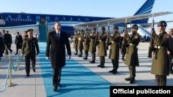 Prezident İlham Əliyev Türkiyədə səfərdədir