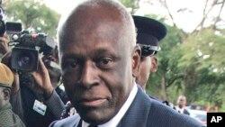 Shugaban Angola Eduardo dos Santos