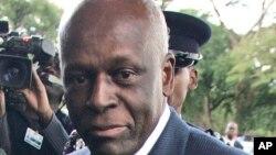 Shugaban Angola Jose Eduardo dos Santos.