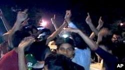 کراچی میں سیمی فائنل میچ کے دوران ہوائی فائرنگ، 36افراد زخمی