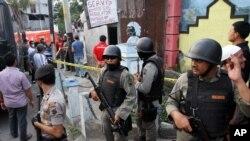 Cảnh sát Indonesia cho biết có 11 người đã bị bắt vì nghi là định tấn công đại sứ quán Mỹ ở Jakarta và các mục tiêu khác