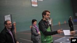 Birači glasaju u Baskiji