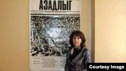 Səadət Cahangir (Foto Gözəl Bayramlının facebook səhifəsindən götürülüb)