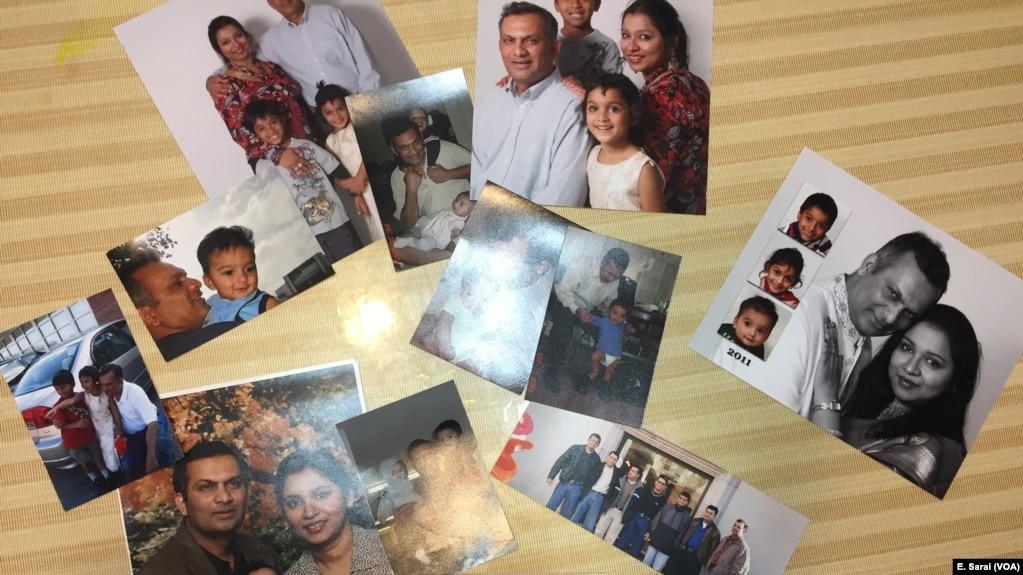 Ông Syed Ahmed Jamal và vợ Angela có 3 đứa con được sinh ra ở Mỹ.