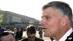 Reverand Franklin Graham in Washington for National Day of Prayer, 6 May 2010