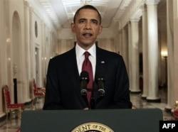 Başkan Obama, bin Ladin'in ölümünü geceyarısı televizyondan canlı yayında duyurdu