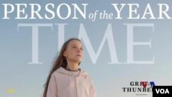 Greta Thunberg, figure emblématique de la lutte contre le dérèglement climatique en 2018.