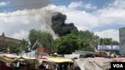 Naoružani napadači upali su u bolnicu u zapadnom delu Kabula 12. maja 2020. a razmena vatre sa policijom trajala je satima.