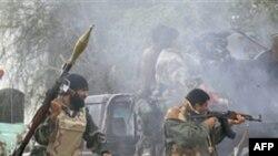 ლიბიაში ბრძოლები გრძელდება
