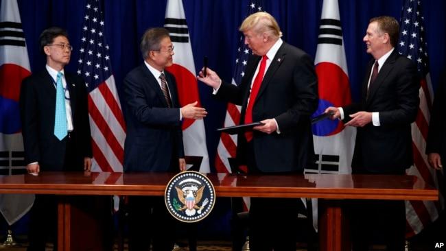 文在寅周四访白宫,将请特朗普放松对朝鲜制裁