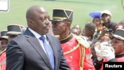 Le président congolais Joseph Kabila, le 30 juin 2016.