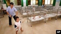 Trẻ em mồ côi tại Trại mồ côi Tam Bình 1 ở TPHCM