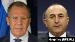 Šefovi diplomatija Rusije i Turske, Sergej Lavrov i Mevlut Čavušoglu