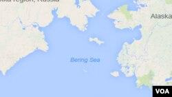白令海(資料圖片)