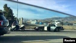Полиция в районе школы Highland