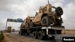 After more than 10 year NATO and US have started withdrawal of their equipments from Afghanistan, (File photo).
