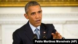 Američki predsednik Barak Obama odgovara na pitanja novinara u Beloj kući