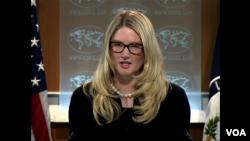 La vocera adjunta del Departamento de Estado, Marie Harf, reiteró que el diálogo es el camino a seguir en Venezuela.