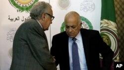 لخدار براہیمی اور عرب لیگ کے سکریٹری جنرل نبیل العربی