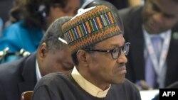 Muhammadu Buhari, président du Nigeria, 28 août 2016.