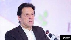 وزیر اعظم پاکستان عمران خان۔