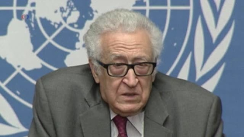 Brahimi to Try Focusing Syria Talks on Geneva Plan