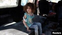 پس از حمله هوایی در ۲۷ اوت ، حلب