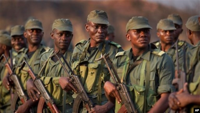 Soldiers from the Republic of Congo operating as part of an multinational force in Central African Republic arrive last December, now more troops have been promised.