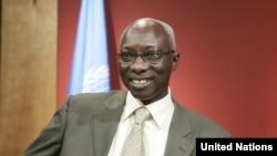 Adama Dieng, conseil spécial du secrétaire générale de l'ONU pour la prévention du génocide.