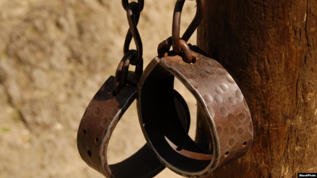 奴隸用的手銬