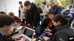 Russia Opposition Elections