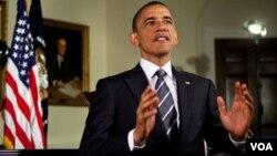 Barack Obama dijo que tales creencias moldean los valores de los estadounidenses.