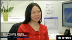 Dr.Victoria Leong, University of Cambridge (Photo: VOA/Videograb)