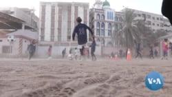 Pakistani Girls Follow Passion for Football Despite Odds