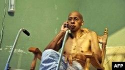 Ông Farinas đã tham gia hơn 20 cuộc tuyệt thực để phản đối chính quyền Cuba