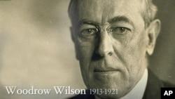 20年代初期的美国总统伍德罗.威尔逊