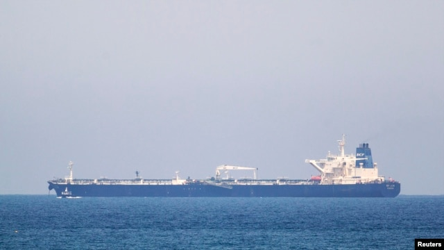 The SCF Altai tanker has anchored near Israel's Ashkelon port, June 20, 2014.
