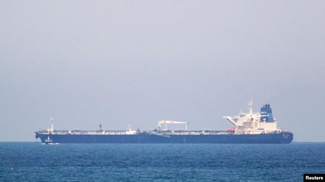 The SCF Altai tanker has anchored near Israel's Ashkelon port, June 20, 2014.