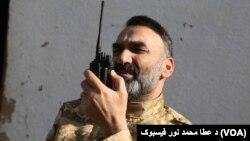 آقای نور در یک هفتۀ نخست ماه ثور سرگرم عملیات نظامی در مربوطات بلخ و جوزجان بود