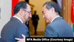 وزیر امور خارجۀ چین در سفری یک روزه به کابل رسید