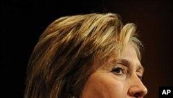 U.S. Secretary of State Hillary Clinton (File)