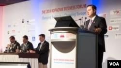 Premijer Srbije u ostavci, Ivica Dačić na Biznis forumu na Kopaoniku, 4. mart 2014.