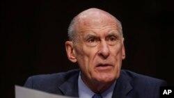 Giám đốc Tình báo Quốc gia Mỹ Dan Coats điều trần trước Ủy ban Quân vụ Thượng viện ngày 6/3/2018.