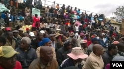 FILE: Some Bulawayo residents staged protests against pre-paid water meters today. (Photo: Taurai Shava)