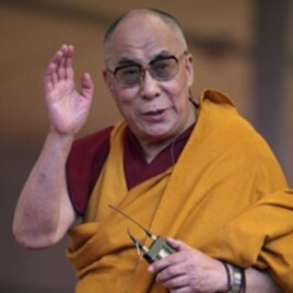 Tibetan spiritual leader the Dalai Lama, January 3, 2012
