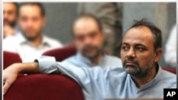 Ahmad Zeidabadi in court.