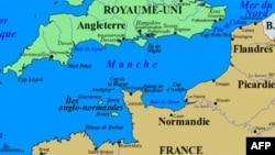 Eo biển Manche nằm giữa Anh và Pháp