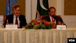 وزیراعظم نواز شریف اور گورڈن برائون
