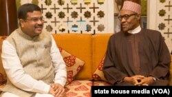 Shugaba Buhari da Firayim Ministan Indiya