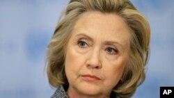 Ứng cử viên tổng thống Mỹ Hillary Rodham Clinton.